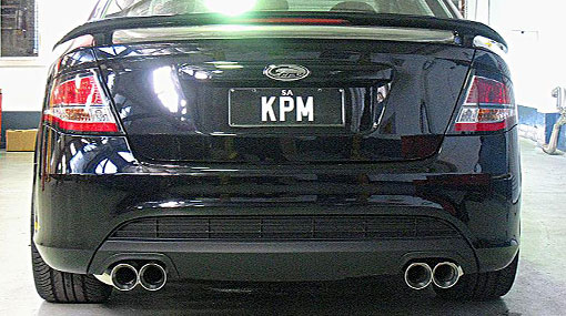 Performance Exhaust Systems Streetfighter Ford