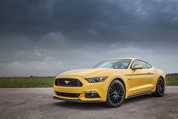 HPE808 Hennessey Heritage Edition Mustang